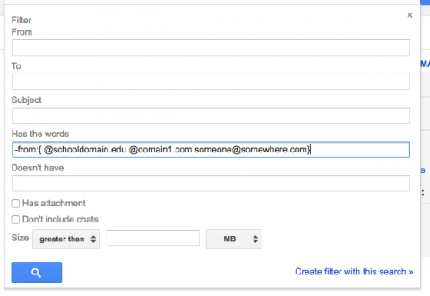 GmailFilter