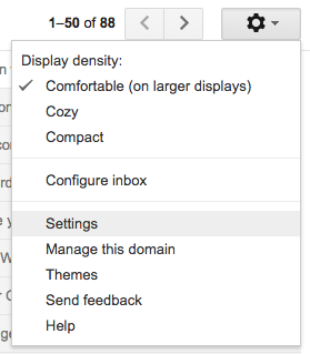 GmailSettings