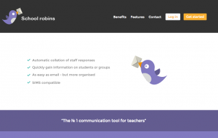 Collect information and prepare reports with School Robins.