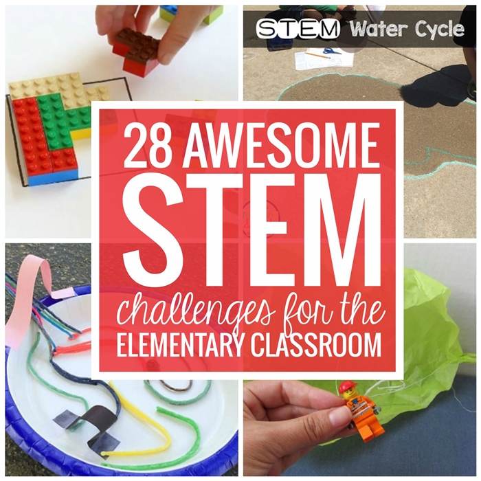 Elementary Classroom STEM Challenges