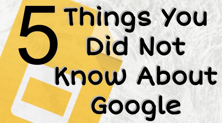 5 tips for Google Slides from @alicekeeler