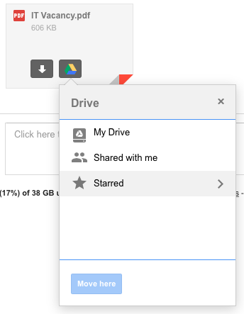 how to select all files on google drive 2017