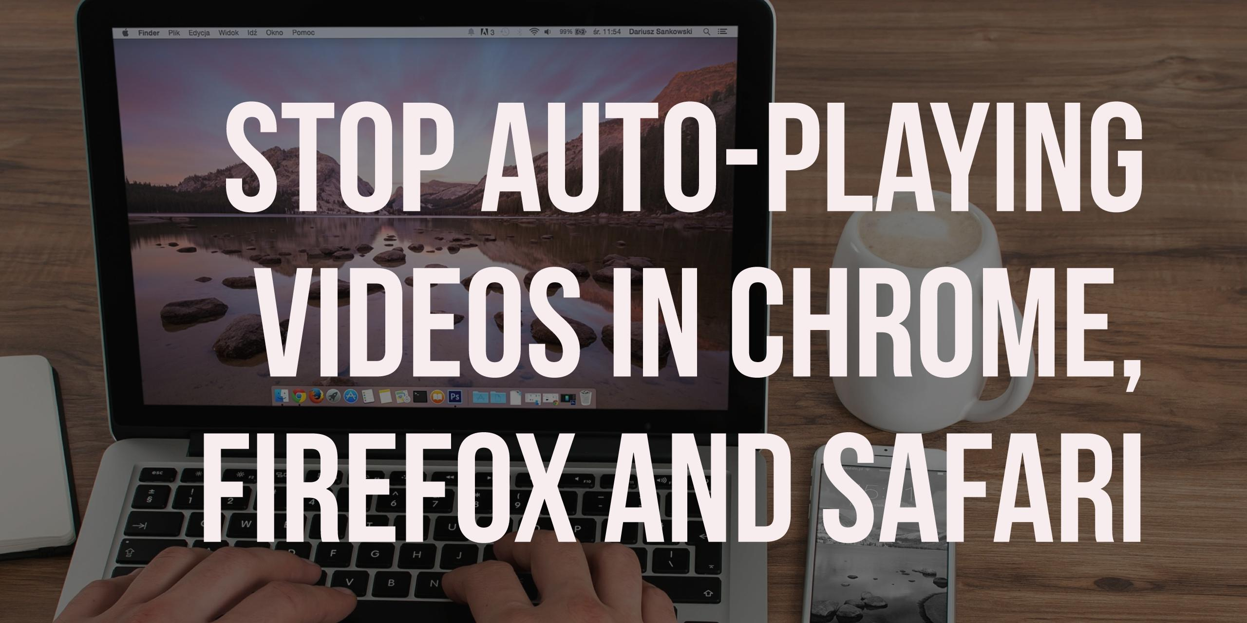 how to stop auto download in firefox