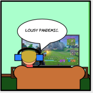Remote learning vs snow days #comic